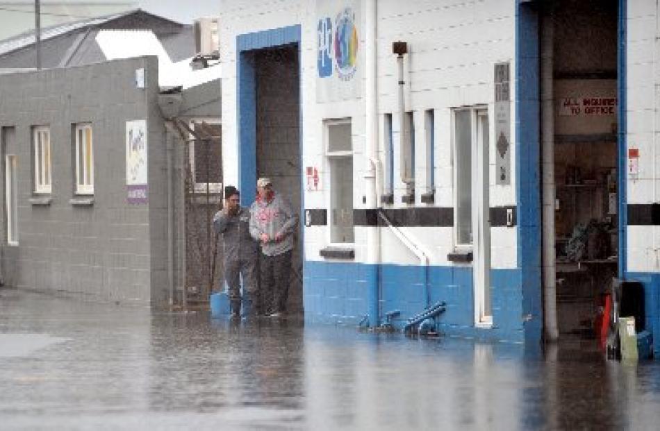 Flooding in South Dunedin.