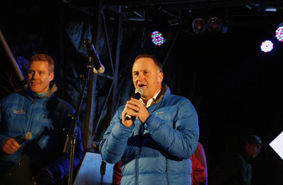 Prime Minister John Key. Photo by Liam Cavanagh