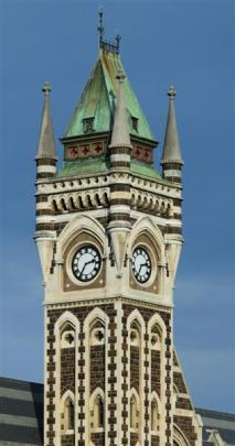 Otago University Clock Tower.