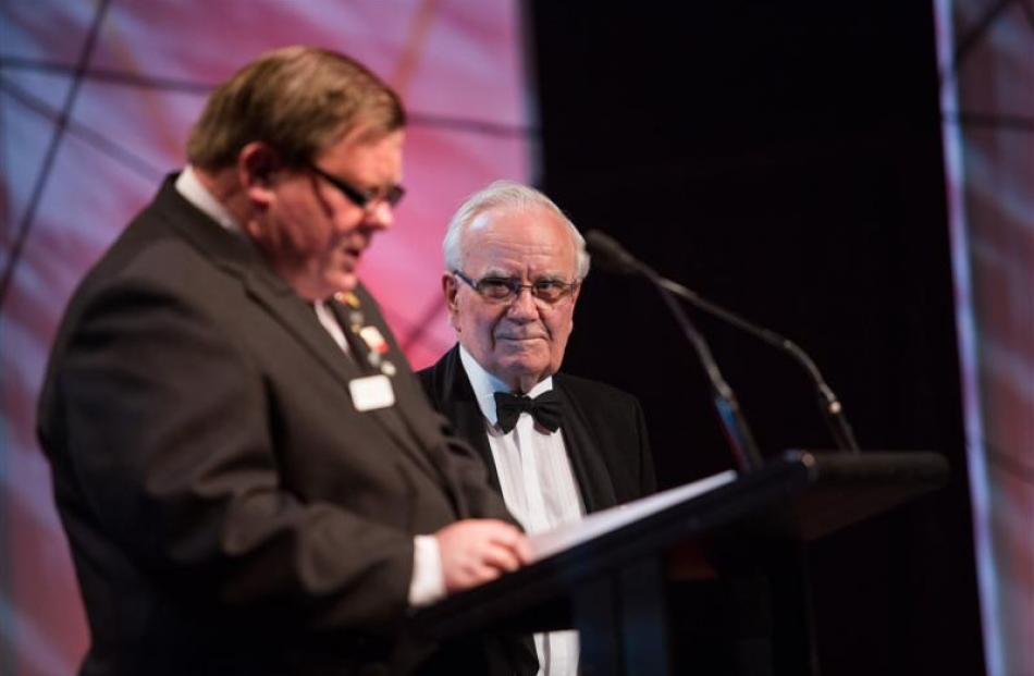 Munro being inducted into the Attitude Awards Hall of Fame in December  last year. Photo supplied.