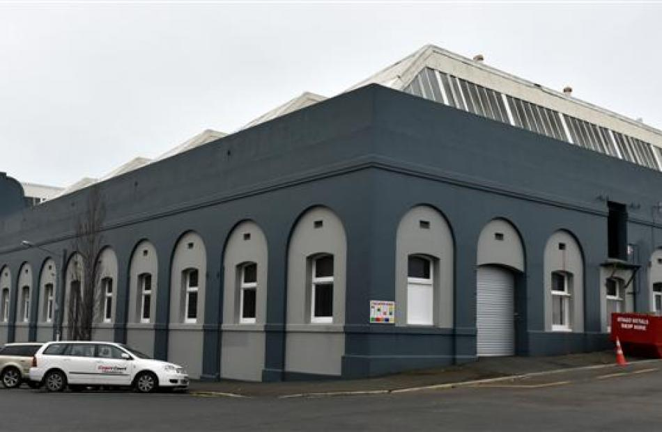 The Dalgety and Co building. Photo by Peter McIntosh.