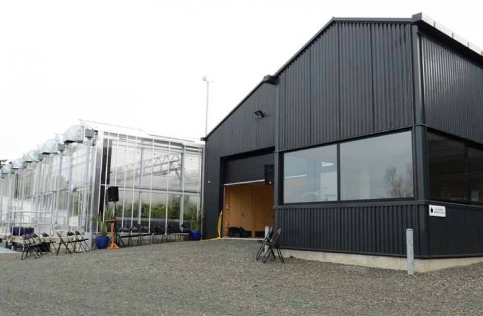 Dunedin Botanic Garden's new $6.2 million nursery and propagation facility was officially opened...