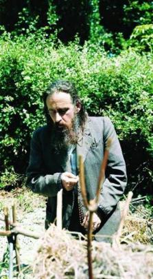 Baxter in Jerusalem in 1970.