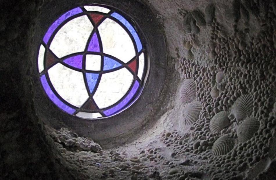 Window in the Cockle Tower.