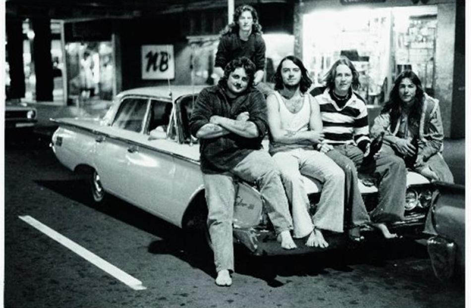 Murray Cammick captures the summer of 1976-77 featuring a 1960s Fairlane. PHOTO: ''FLASH CARS''...