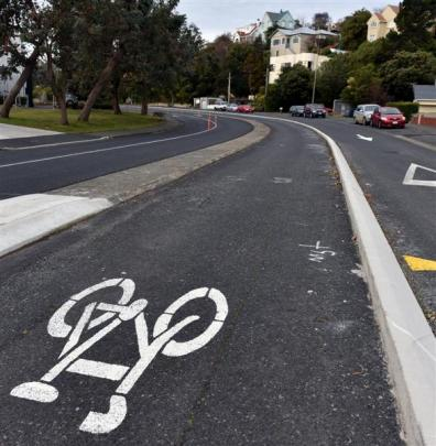 Portobello Rd's cycleway.