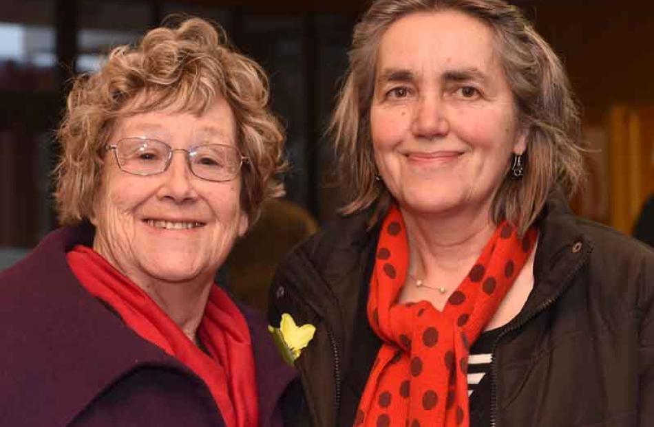 Annemarie Parsons and Uli Wolff, both of Dunedin.