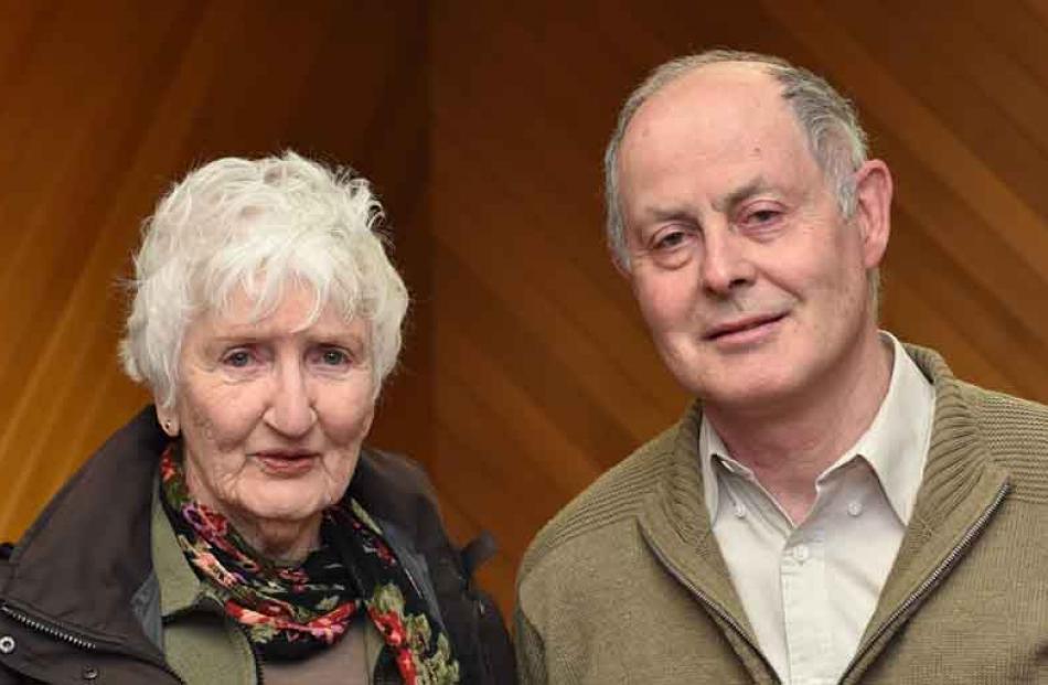 Joan de Groot and Keith Aitken, both of Dunedin.