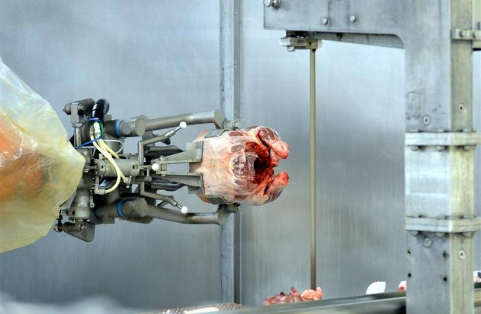 Robotic technology from Scott Technology. Photo by Stephen Jaquiery.
