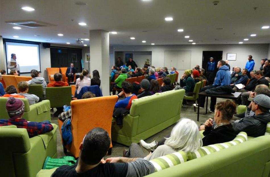A public meeting in Queenstown last month  to discuss public access to alpine land attracted a...