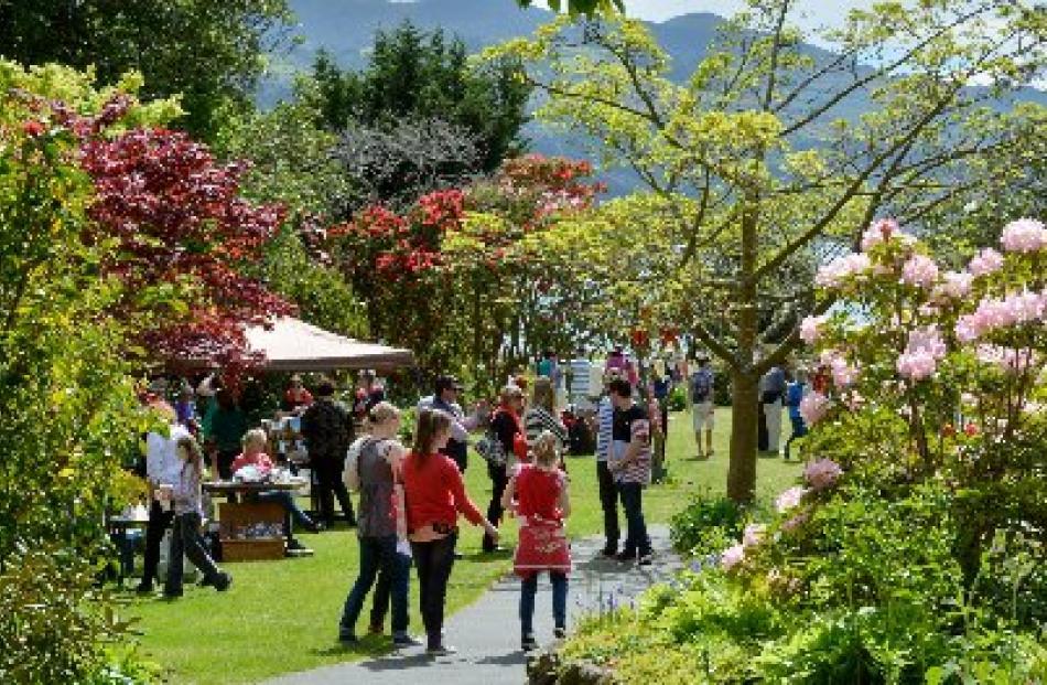 Glenfalloch gardens on Portobello Rd. Photo: ODT files