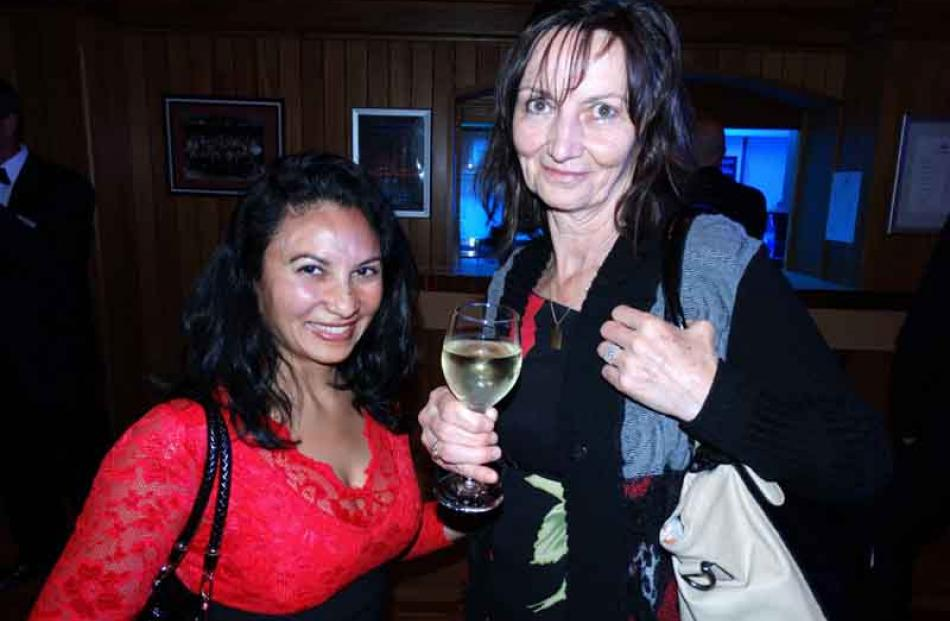 Rose Freitas and Eva Galkoua, both of Queenstown.