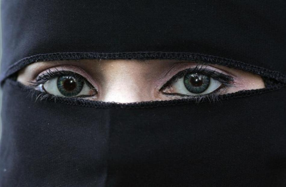 The niqab was a defining issue in the Canadian election.