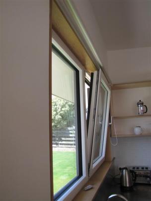 The triple-glazed windows.
