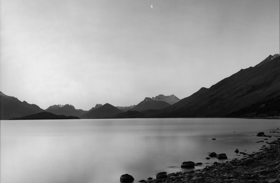 Te Koroka. Te Wahi Pounamu. Whakatipu Wai Maori, 1988, by Mark Adams, also a silver bromide...