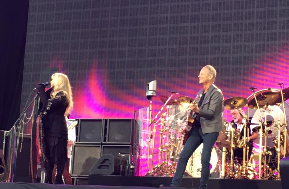 Fleetwood Mac on stage. Photo by Craig Baxter