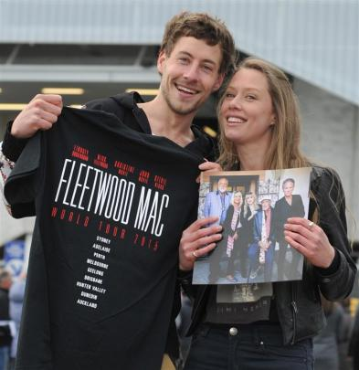 Brother and sister Jordan Small and Courtney Thomas-Small show the love of Fleetwood Mac that...