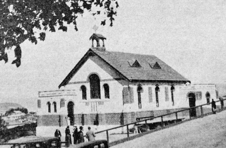 The church of Our Lady of Perpetual Succour, opened in 1936, had buttresses  at intervals around...