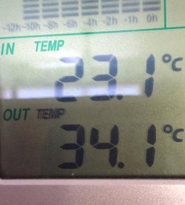 Hot in Henley today. Photo Karen Holmes