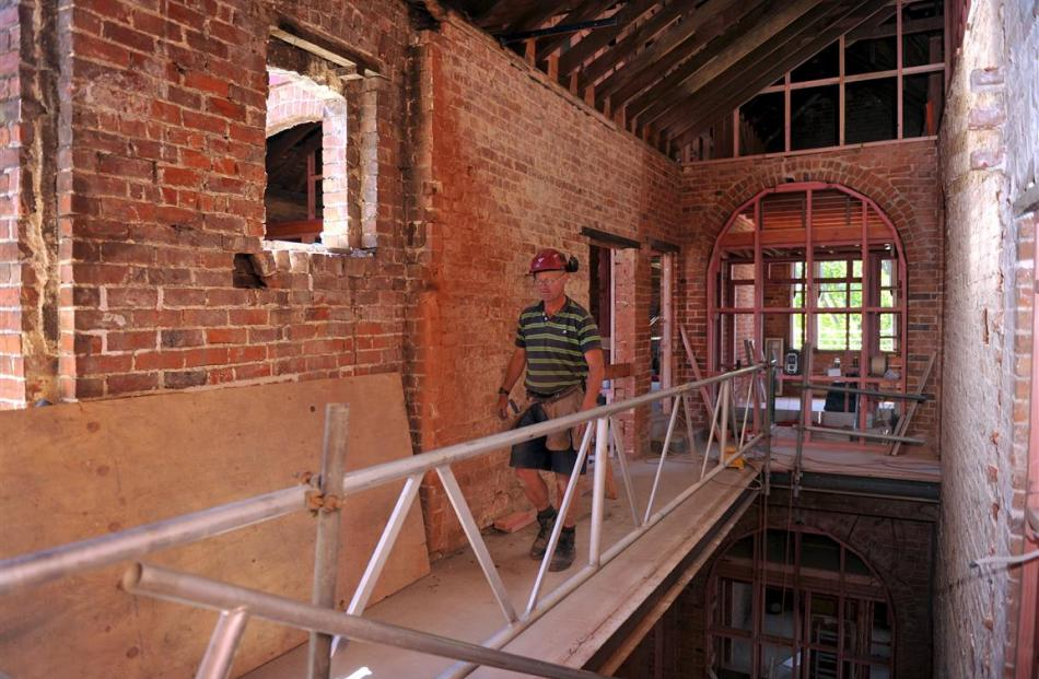 Grant Homan is one of the team breathing life into the 135-year-old hotel.
