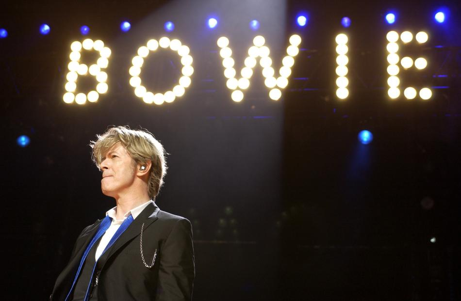 Bowie's career spanned five decades and included four tours to New Zealand. Photo: Getty Images