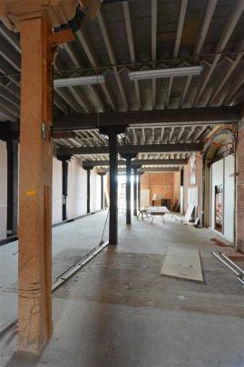 This section of the building's ground floor will become part of an imposing open-plan three...
