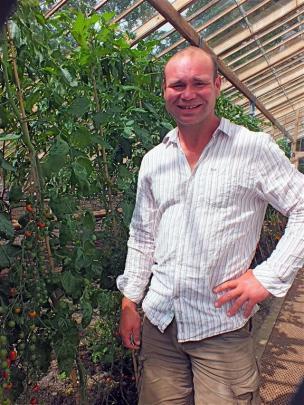Gravetye Manor's head gardener Tom Coward has worked in the Nelson area.