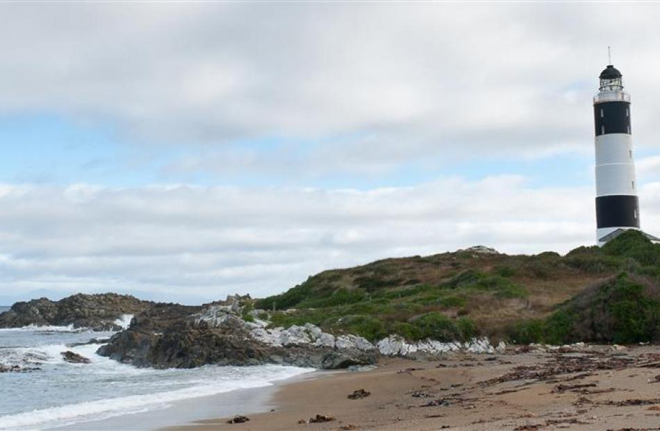 Panorama of Dog Island.