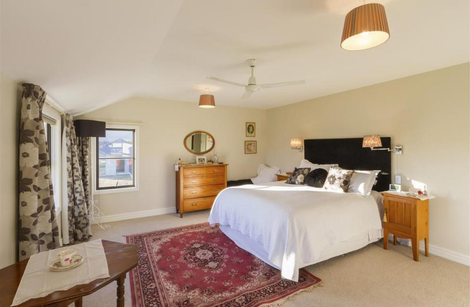 The bedrooms are light and spacious.