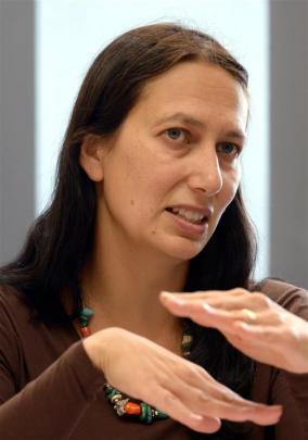 Professor Jacinta Ruru. Photo by Gerard O'Brien.