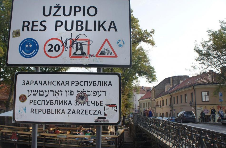 Arguably Vilnius' most bohemian quarter, the Republic of Uzupis began with a statue of Frank...