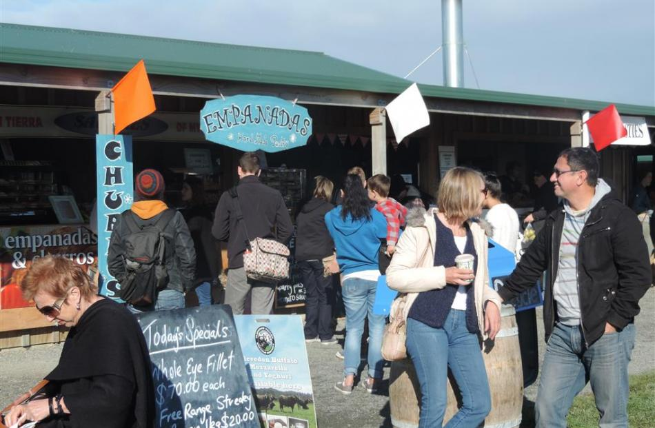 Clevedon farmers market.