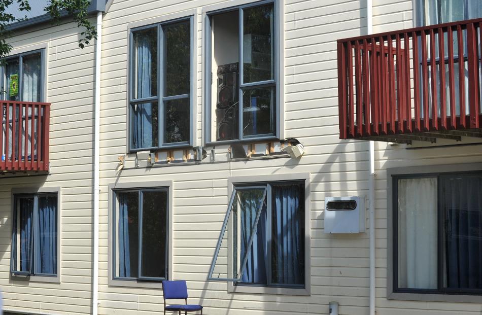 The flat minus its balcony. Photo: Christine O'Connor