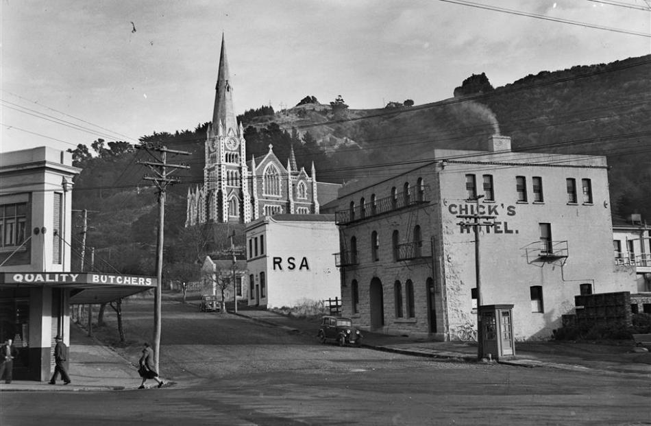 Chick's Hotel  in 1952.