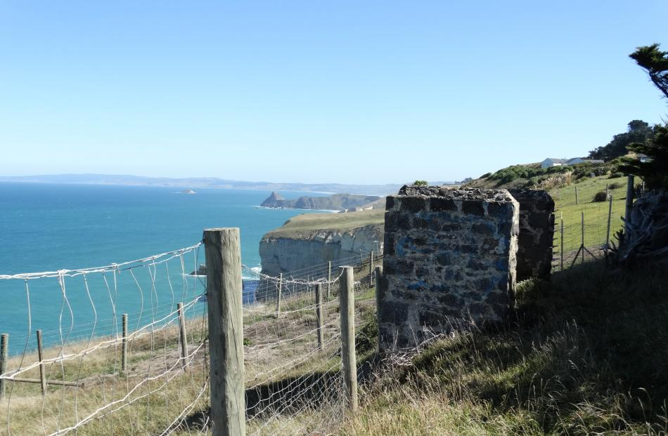 Between sea, land and sky ...  The clifftops by Cargill's Castle, which are being discussed as a...