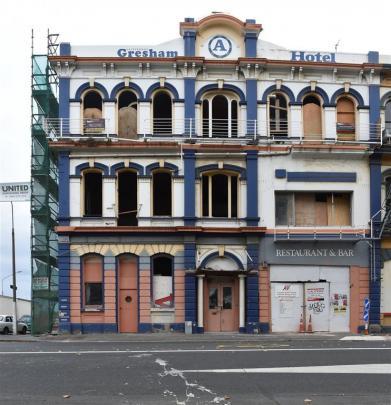 The former Gresham Hotel.
