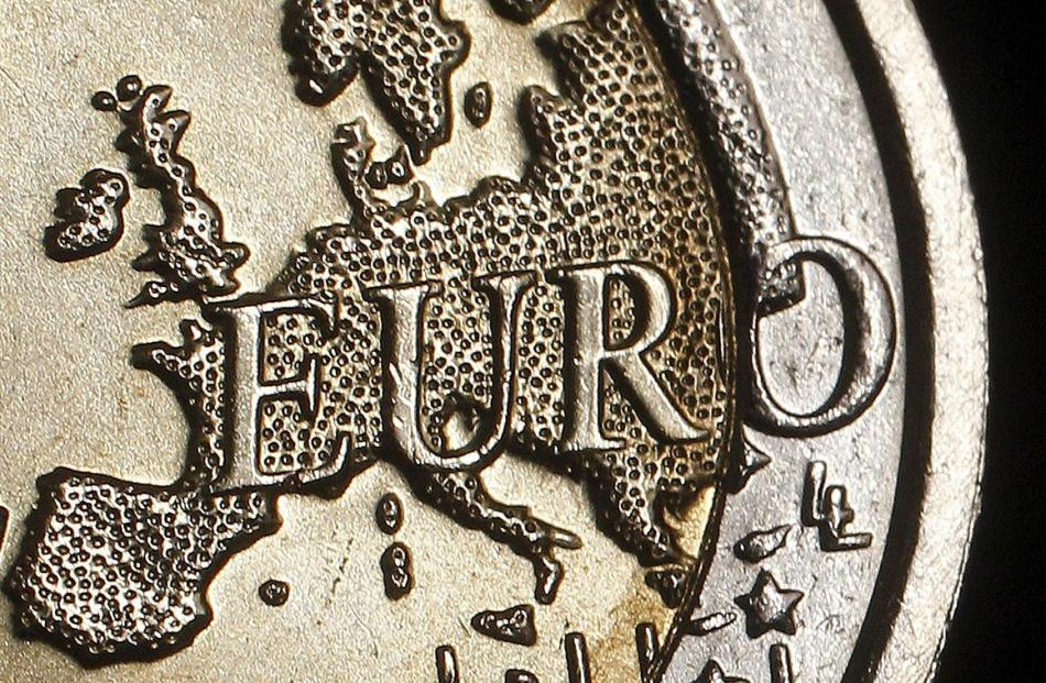 The map of Europe is featured on the face of a €2 coin.