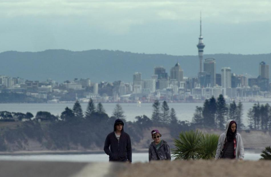 A scene from the New Zealand film Orphans & Kingdoms.