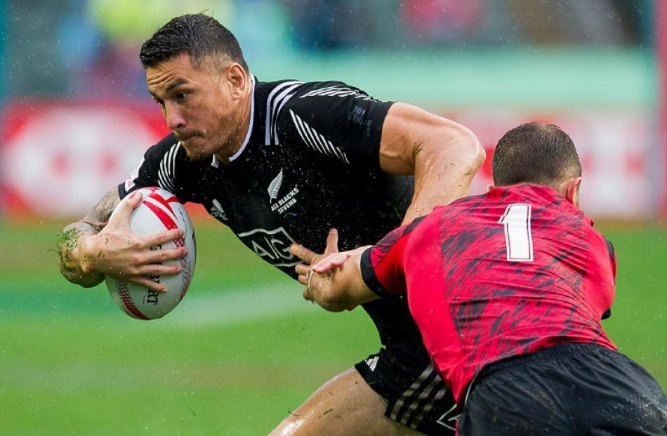 Sonny Bill Williams in action for the New Zealand sevens team. Photo: Getty Images