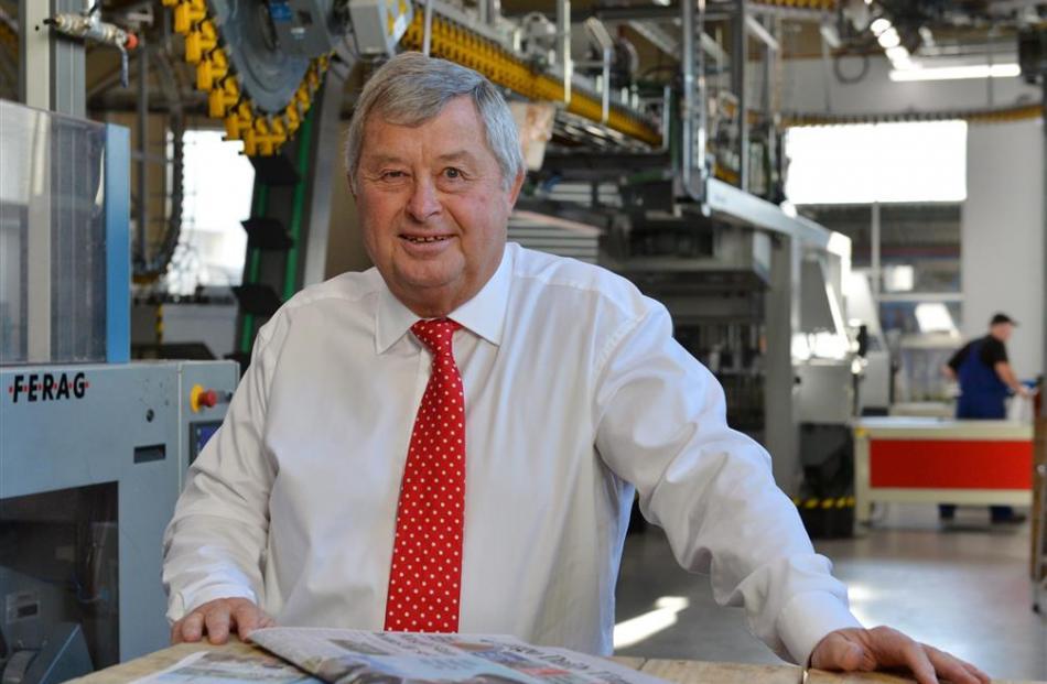 Allied Press director Nick Smith. Photo by Gerard O'Brien.