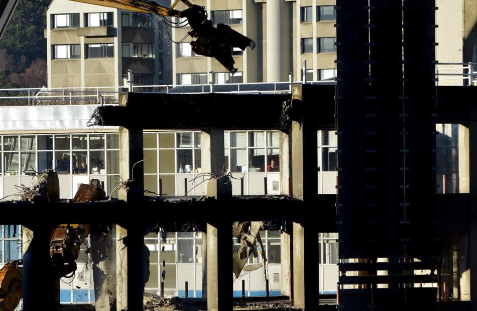 Ongoing demolition at the University of Otago  School of Dentistry has caused disruption for...