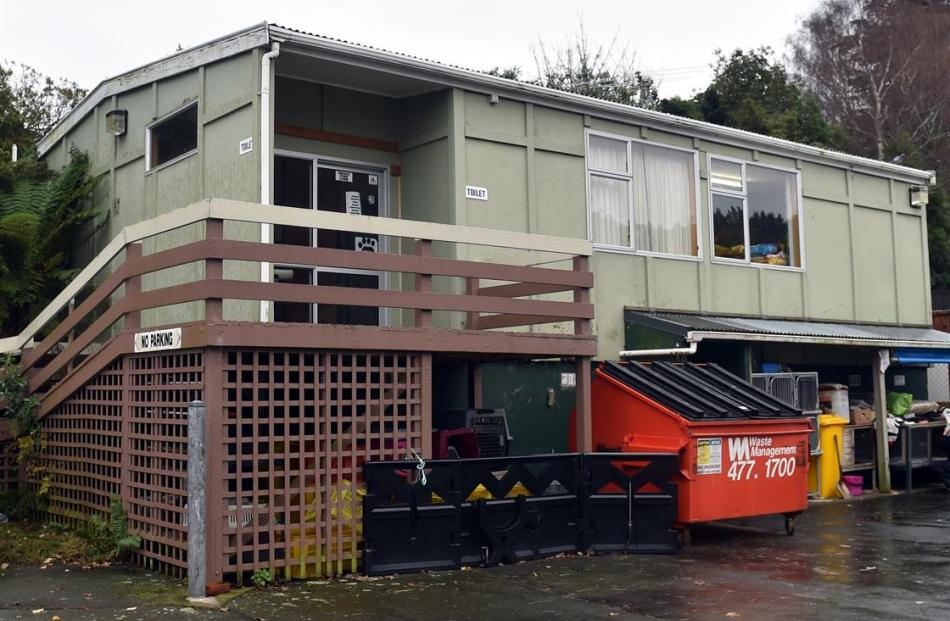 SPCA Otago's education centre. Photo: Peter McIntosh