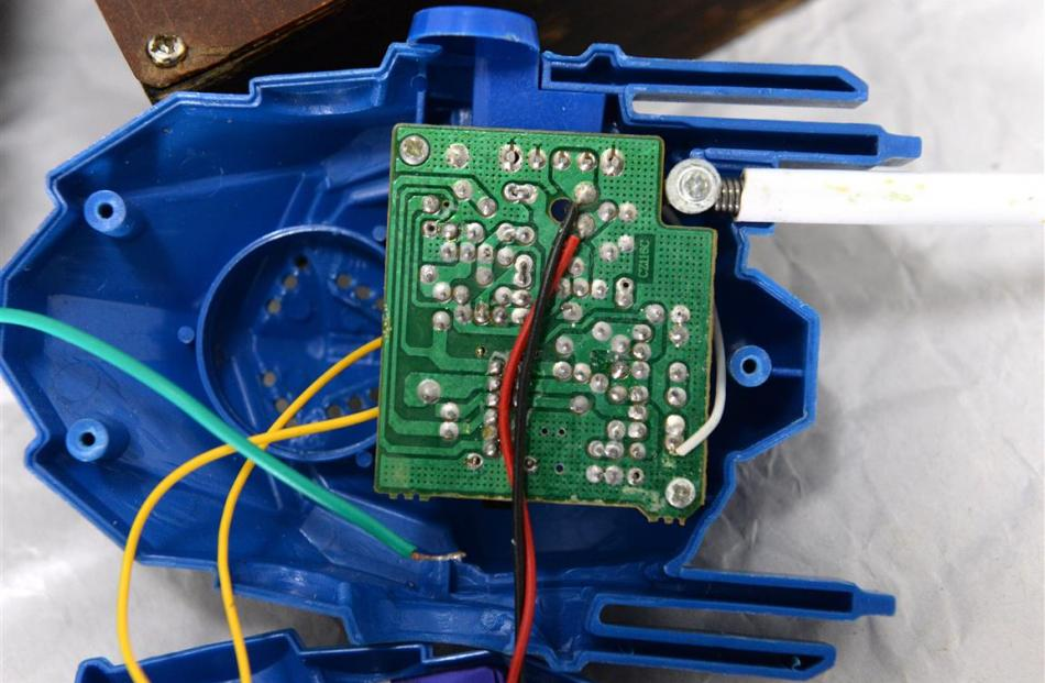 Hacking, or circuit bending, electronic devices is the heart of one strand of sound art. Photo:...