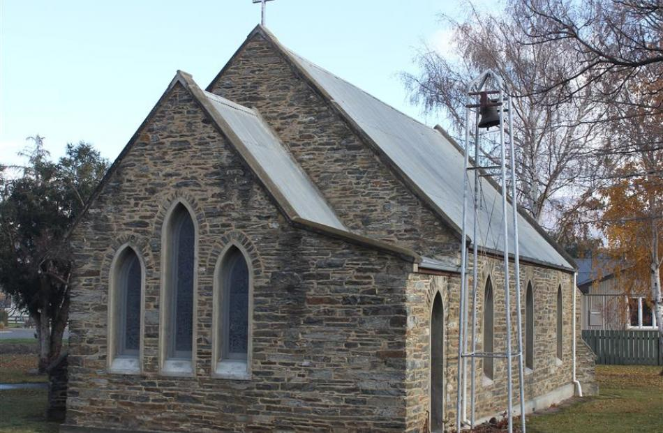 St Andrews Anglican Church, in Cromwell.