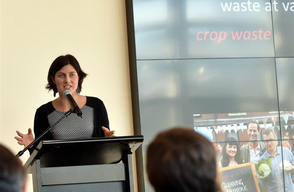 Dr Miranda Mirosa talks about food waste at the International Food Design Conference this week....