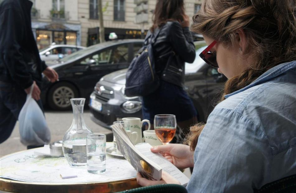 The chance to read Hemingway at the Paris Café de Flore on a stopover is one of the added...