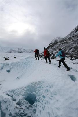 We explore the 29km Tasman Glacier on foot, with Southern Alps Guiding's chief guide Charlie Hobbs.