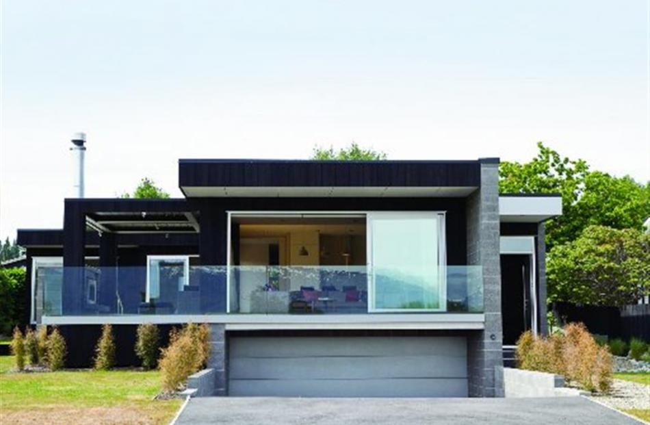 Diana Blake's Brownston Home, in Wanaka, which won her two awards — residential new home between...