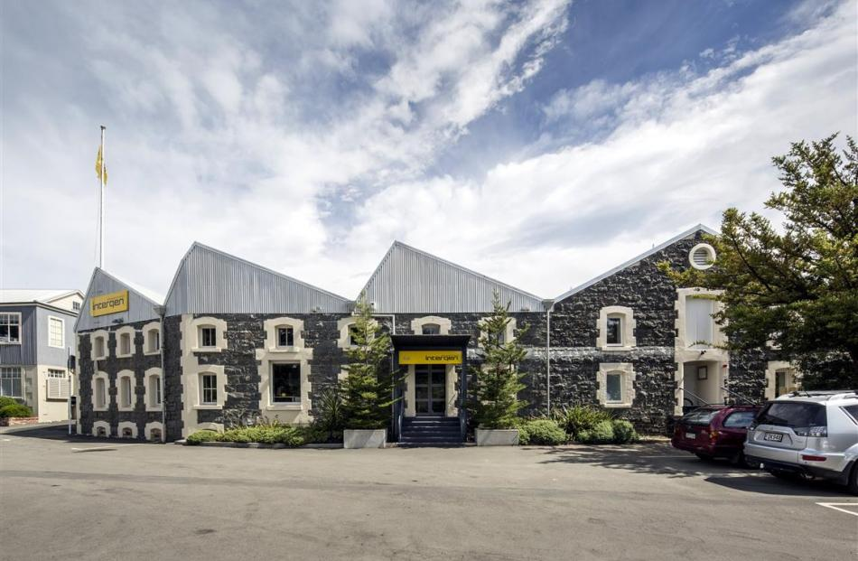Gary Todd won the commercial interior award for his work on the Wilson's Distillery building.