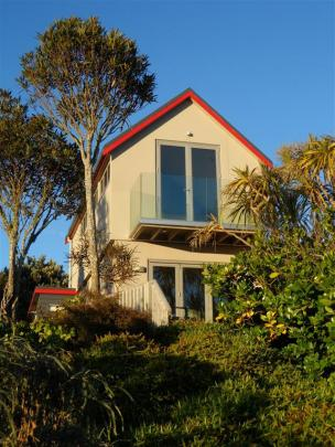 Ian Booth's Virginia Ave project, in Broad Bay, which won highly commended in the residential...